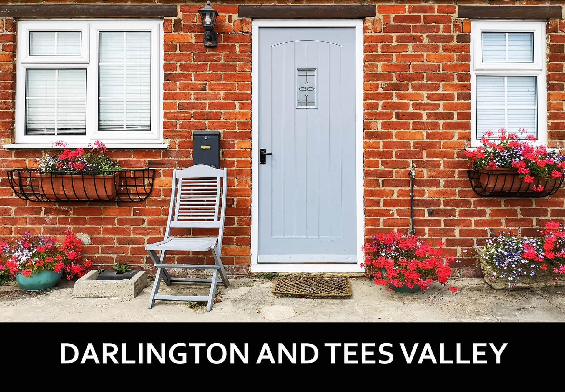 Darlington Door Text